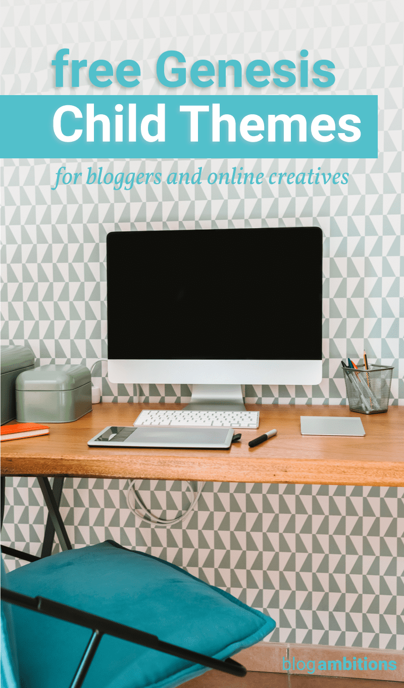 Five Free Genesis Child Themes for Bloggers