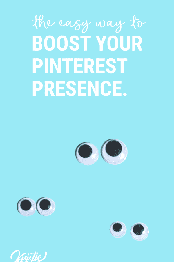 Get more eyes, and shares on your pins with Tailwind Tribes.